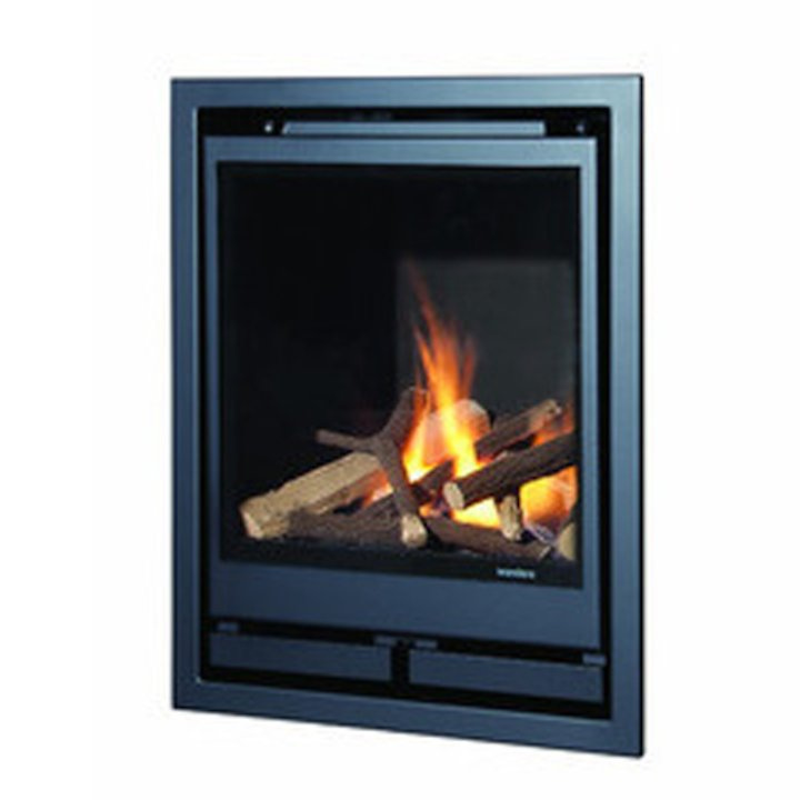 Wanders Square 40G Frontal Balanced Flue Gas Fire - Anthracite