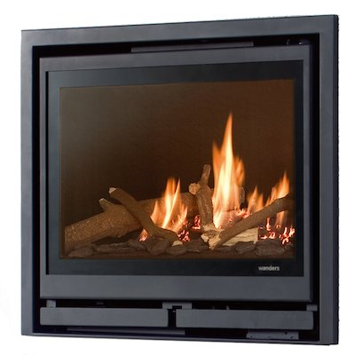Wanders Square 60G Frontal Balanced Flue Gas Fire