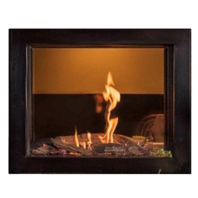 Wanders Douglas Balanced Flue Built-In Gas Fire - Tunnel Black Natural Gas