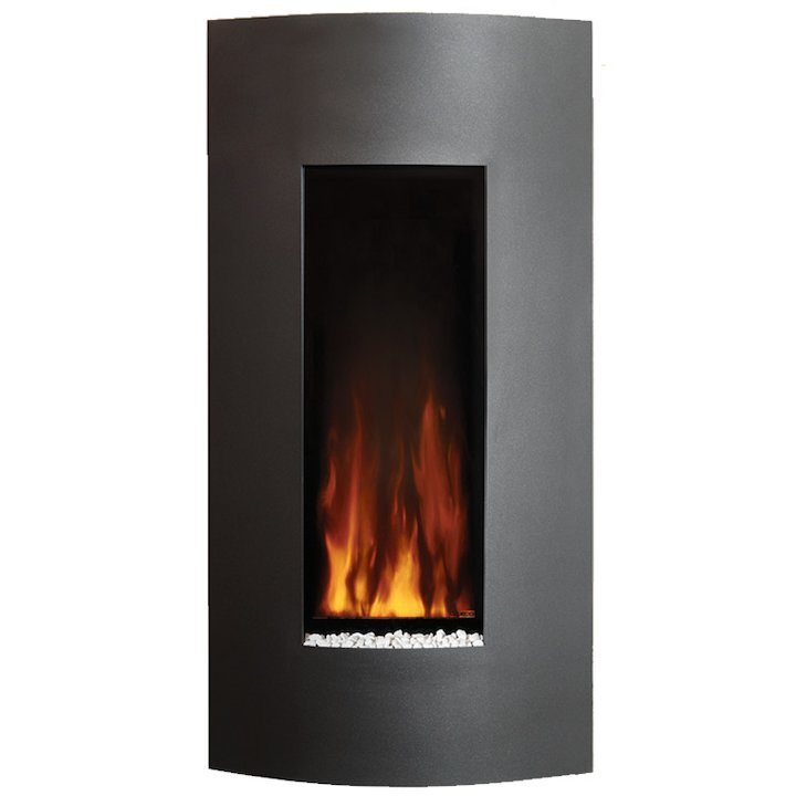 Gazco Studio 22 Verve Wall Mounted Electric Fire - Graphite