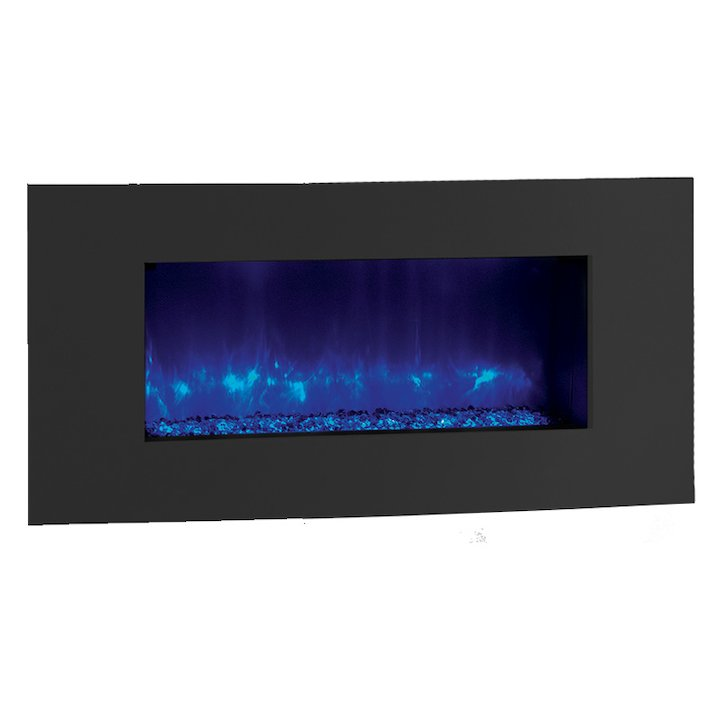 Gazco Radiance 85R Verve XS Built-In Electric Fire - Graphite