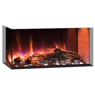 Gazco Skope 70w Built-In Electric Fire - Corner/Three Sided