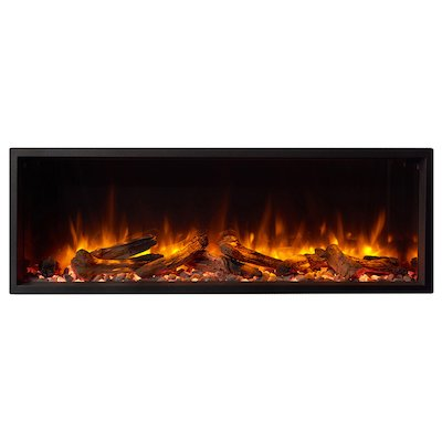 Gazco Skope 105r Built-In Electric Fire - Frontal