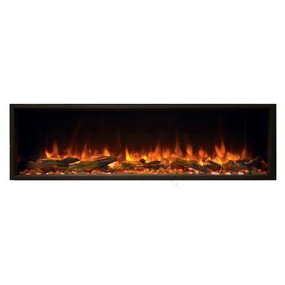 Gazco Skope 135r Built-In Electric Fire - Frontal
