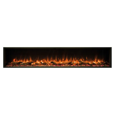 Gazco Skope 195r Built-In Electric Fire - Frontal