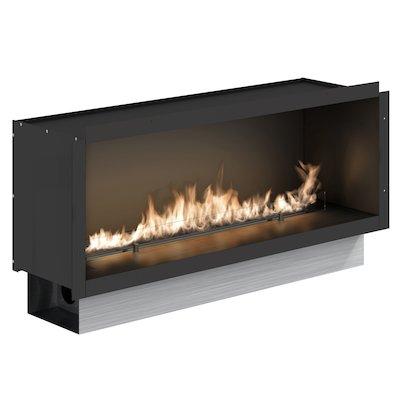 Planika Fireline FLA2E/990 Bio-Ethanol Cassette Fire - Frontal