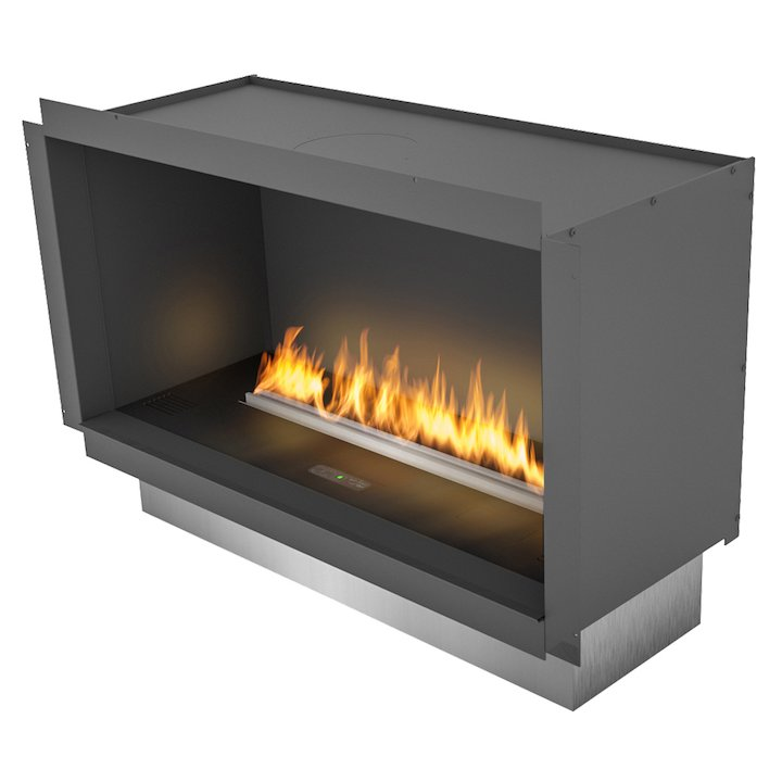 Planika Primefire Bio-Ethanol Cassette Fire Black Manual Control - Black