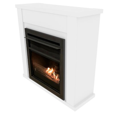 Planika Lincoln Bio-Ethanol Fireplace Suite