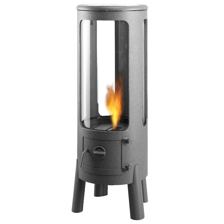 Beefire Frizz Bio-Ethanol Stove - Clearance - Iron Grey