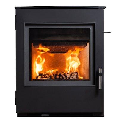ESSE 301 Multifuel Inset Stove Black Traditional Door