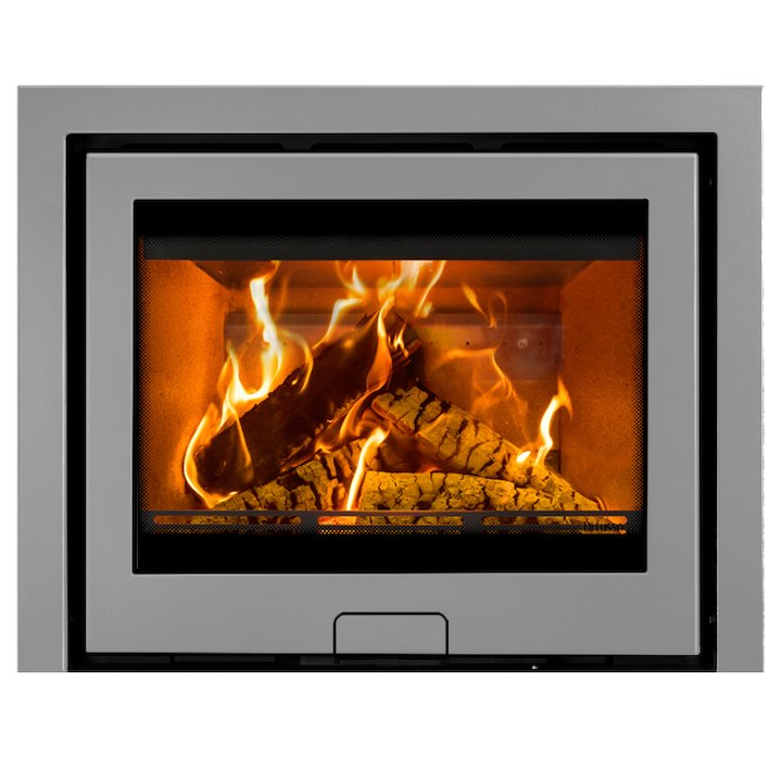 Di Lusso R6 Wood Cassette Fire Silver Three Sided Frame - Silver