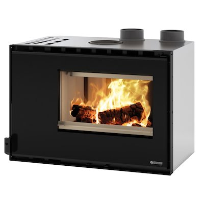La Nordica Crystal 80 HPS Wood Cassette Fire