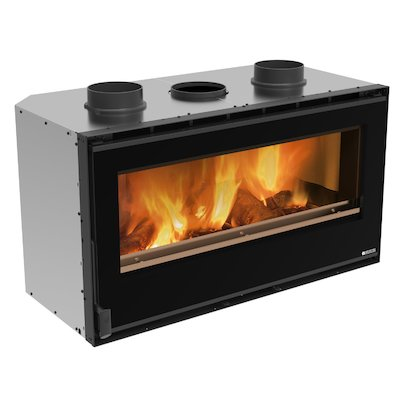 La Nordica Crystal 100 Wood Cassette Fire