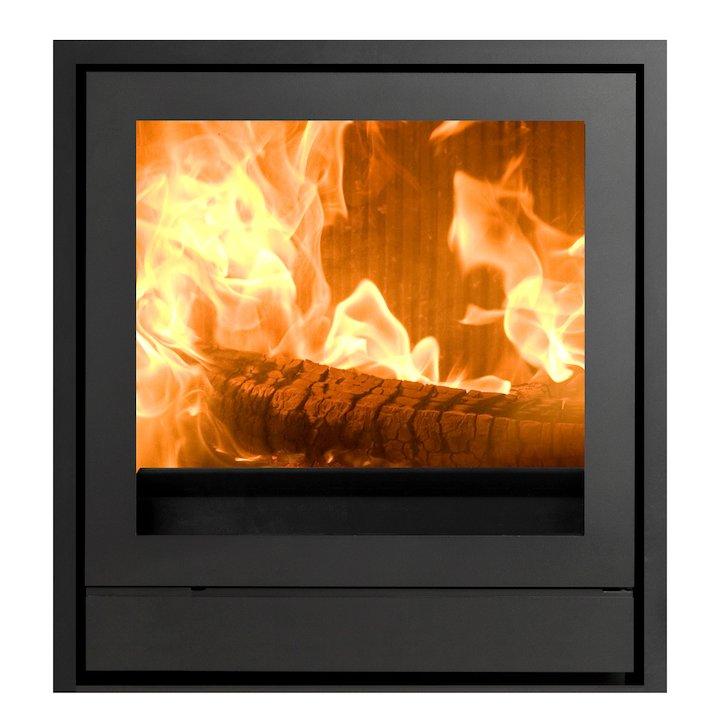 Nestor Martin IQ33 Wood Cassette Fire Black Three Sided Frame - Black
