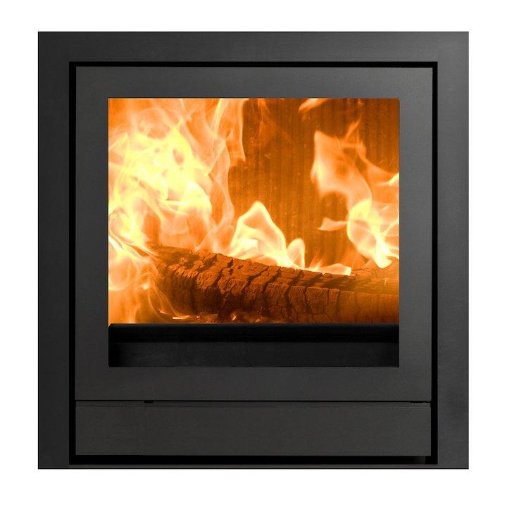 Nestor Martin IQ33 Wood Cassette Fire Black Three Sided Wide Frame - Black