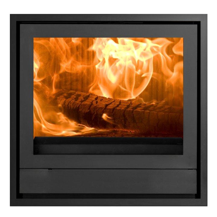 Nestor Martin IQ43 Wood Cassette Fire Black Four Sided Frame - Black
