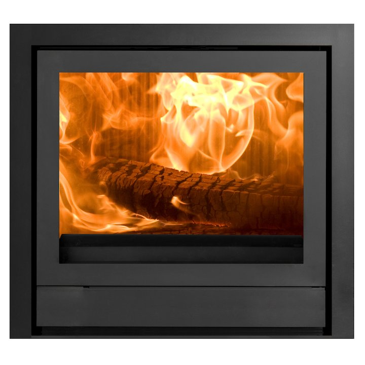 Nestor Martin IQ43 Wood Cassette Fire Black Three Sided Wide Frame - Black