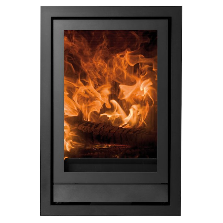 Nestor Martin IQH33 Wood Cassette Fire Black Four Sided Wide Frame - Black