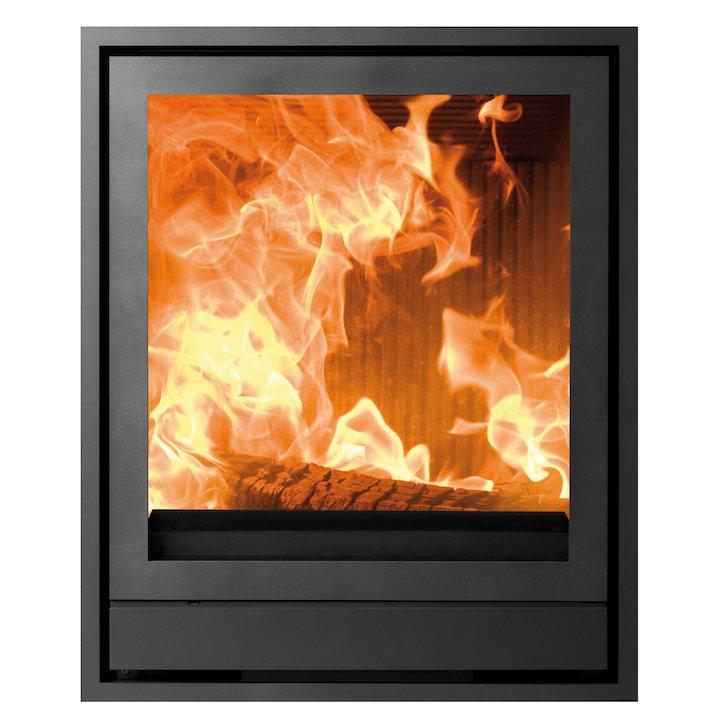 Nestor Martin IQH43 Wood Cassette Fire Black Four Sided Frame - Black
