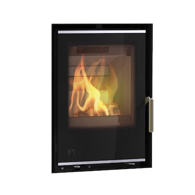 Arada I400 Multifuel Cassette Fire - Frontal Black Glass Frameless/Edge