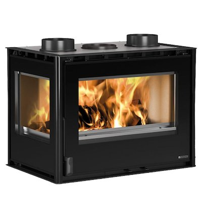 La Nordica Crystal 70 Wood Cassette Fire - Corner