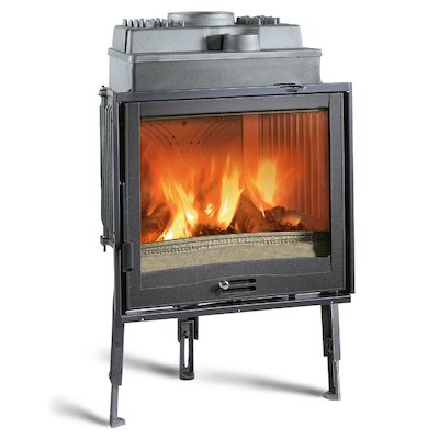 La Nordica Focolare Piano 70 Built-In Wood Fire - Frontal