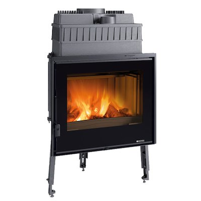 La Nordica Focolare Crystal 70 Built-In Wood Fire - Frontal