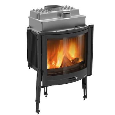 La Nordica Focolare Tondo 70 Built-In Wood Fire - Frontal