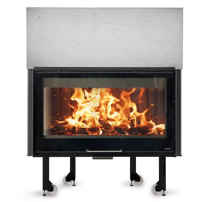La Noridca Monoblocco Crystal 1300/800 Built-In Wood Fire - Frontal
