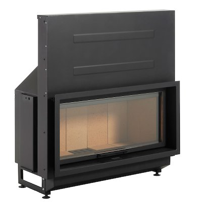 LL-Calor LL2080 Built-In Wood Fire - Frontal