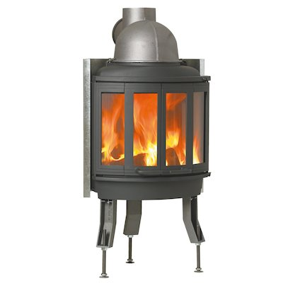 Nordpeis Ni22 Built-In Wood Fire - Frontal