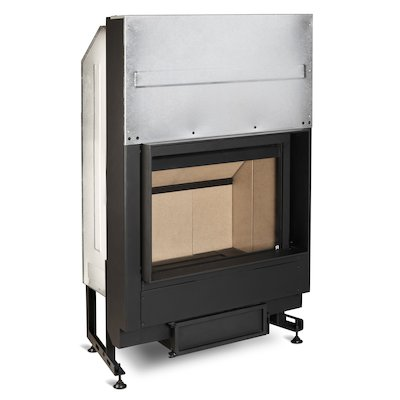 Rocal G300 Built-In Wood Fire - Frontal
