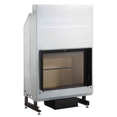 Rocal G350 Built-In Wood Fire - Frontal