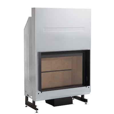 Rocal G400 Built-In Wood Fire - Frontal