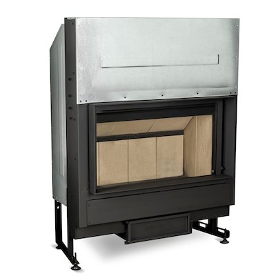Rocal G450 Built-In Wood Fire - Frontal