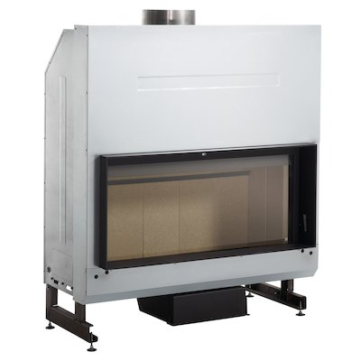 Rocal G500 Built-In Wood Fire - Frontal