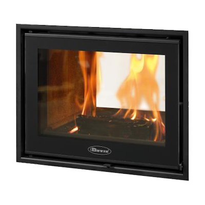Dovre Zen 102 Built-In Wood Fire - Tunnel
