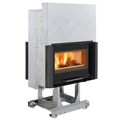 La Nordica Focolare Crystal 80 Bifacciale Built-In Wood Fire - Tunnel