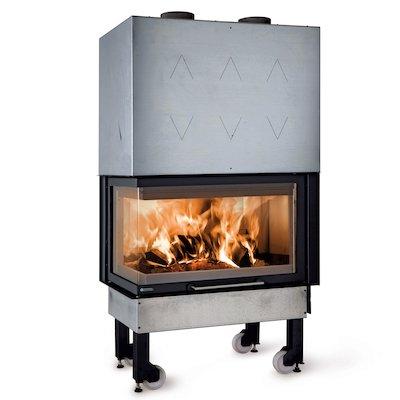La Noridca Monoblocco Angolo 800 Built-In Wood Fire - Corner