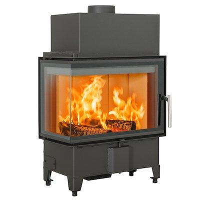 Scan 5003 Built-In Wood Fire - Corner