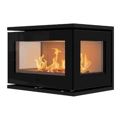Rais 500/3 Wood Cassette Fire - Three Sided