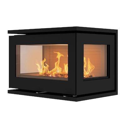 Rais 500/3 Wood Cassette Fire - Three Sided