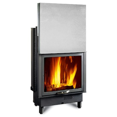 La Nordica Thermo Piano 650 DSA Built-In Wood Boiler - Frontal