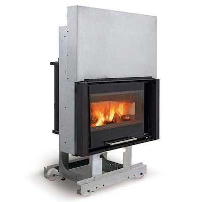 La Nordica Thermo Crystal Base DSA Built-In Wood Boiler - Frontal
