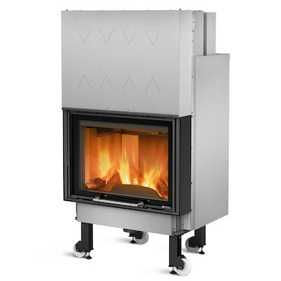 La Nordica Thermo Crystal WF25 DSA Built-In Wood Boiler - Frontal