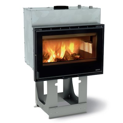 La Nordica Thermo Crystal 80 DSA Built-In Wood Boiler - Frontal
