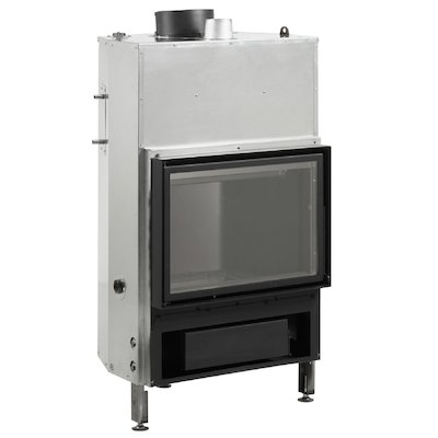 Rocal Thermogar LN70 Built-In Wood Boiler - Frontal