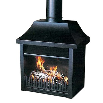 Flamewave Tortoise Model 7 Wood Open Convector Stove