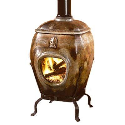 Grenadier Iziko Lokubasela Ceramic Open Wood Stove