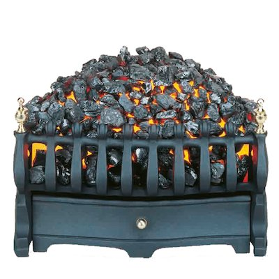 Burley Halstead Tapered Electric Fire Kit